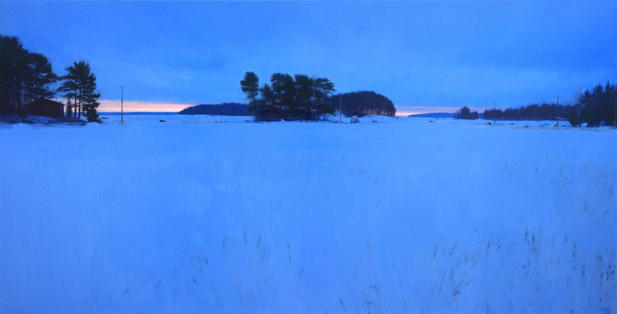 The last winter. 195x100 cm. Oil on linen.